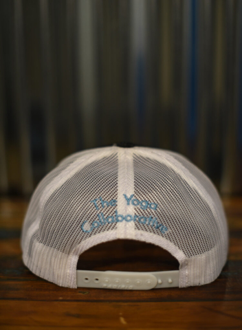 Trucker Hat – embroidered front and back. Back View